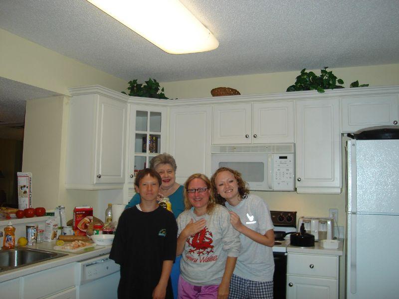 Group condo kitchen