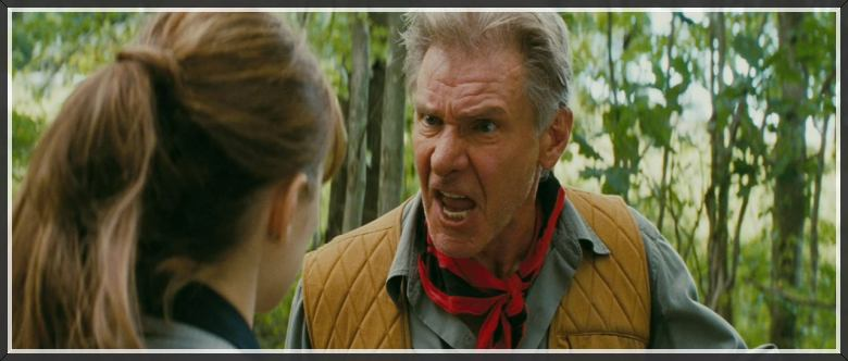 Harrison Ford scary face