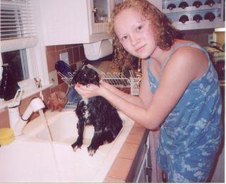 Bathing_Coco