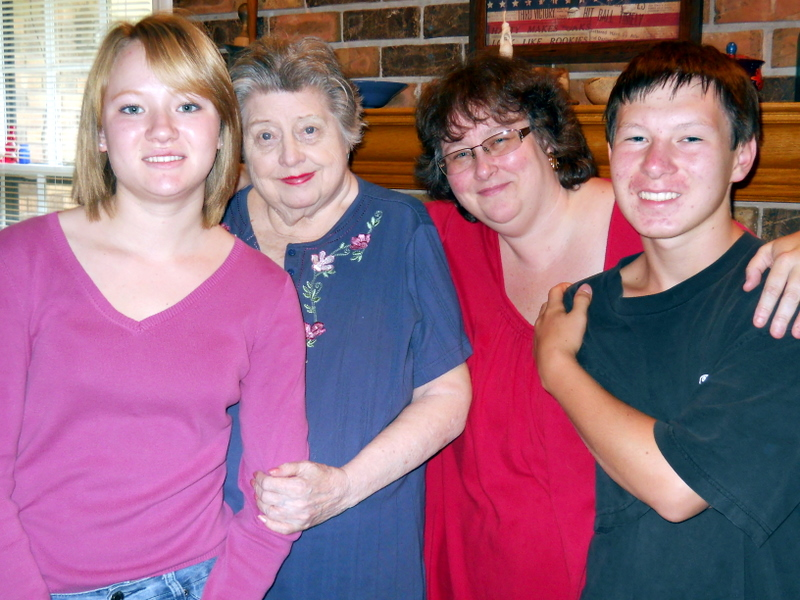Alesia, Elva, Dee, and Mike May 2011