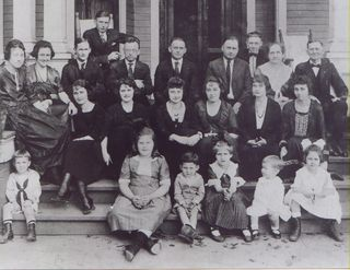Butler Family 1921