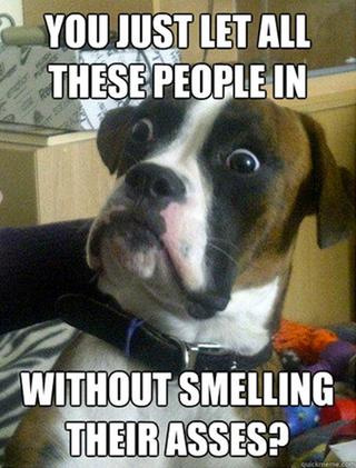 Ass Smelling