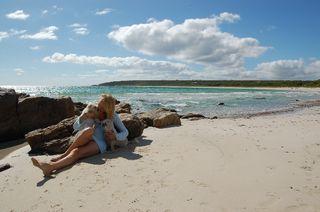 Skiff beach