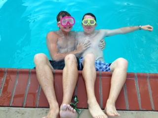 Colton Mike pool 2