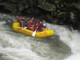 Mike camp 2012 whitewater rafting