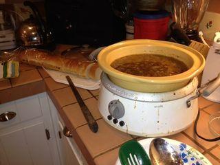Soup crock pot