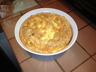 Finished souffle