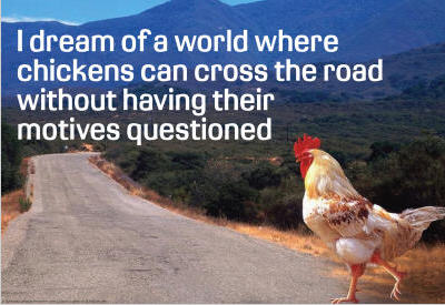 Chicken-Crossing-Road-Dream-poster