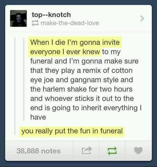 Funeral Fun