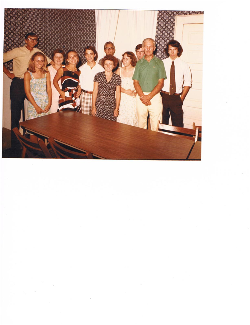 Thompson family reunion 1978