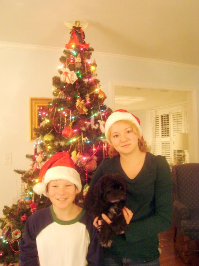 Christmas 2007, kids (2)