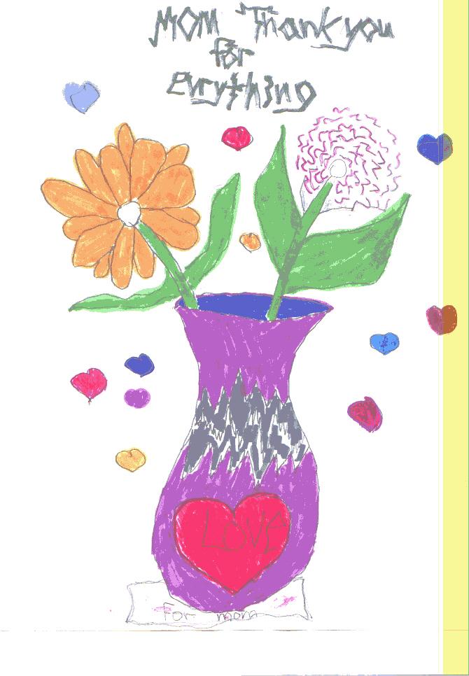 Thanks Mom Flowers 08