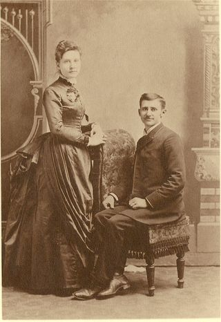 Granny Butler wedding photo