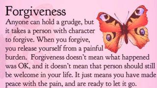 Forgiveness meme