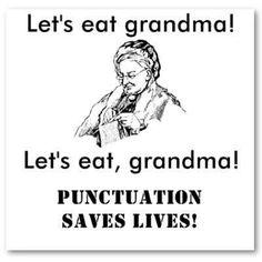 Punctuation granny