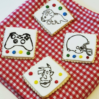 Painted cookies