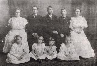 Mamaw and siblings as kids