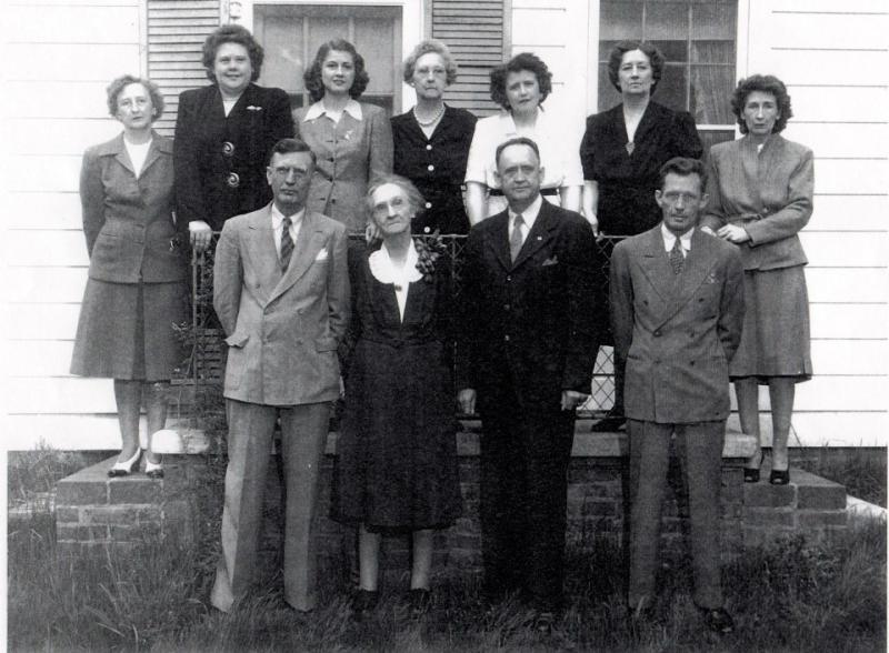 Mamaw and siblings 1940s