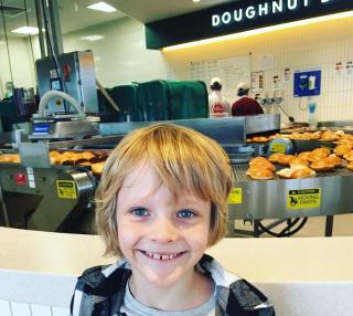 Jake at Krispy Kreme
