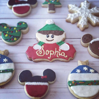 Holiday cookies