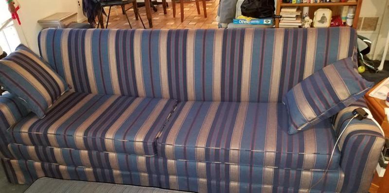 Big sofa recovered