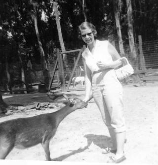 Elva with deer final