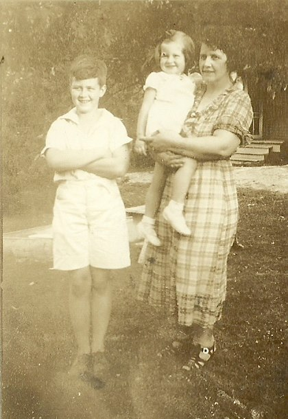 1935 with Memaw and Bobby