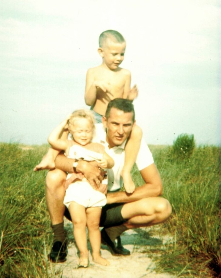 Dad Dee Bruce beach